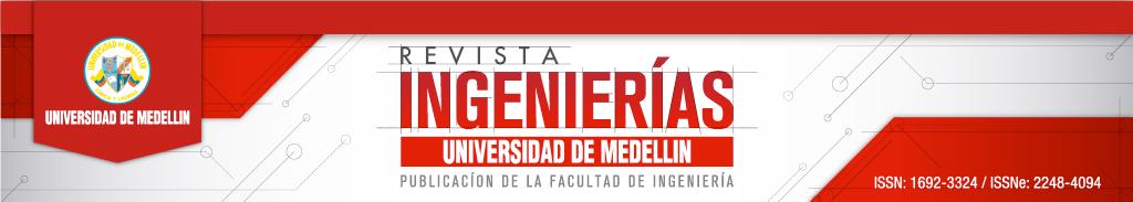 Revista Ingenierías Universidad de Medellín